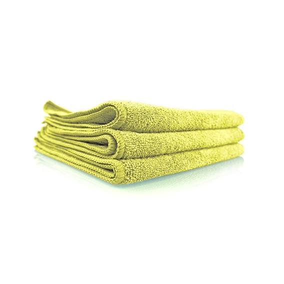 WORKHORSE GELB MICROFIBER TOWEL, 40x40cm (INTERIOR)