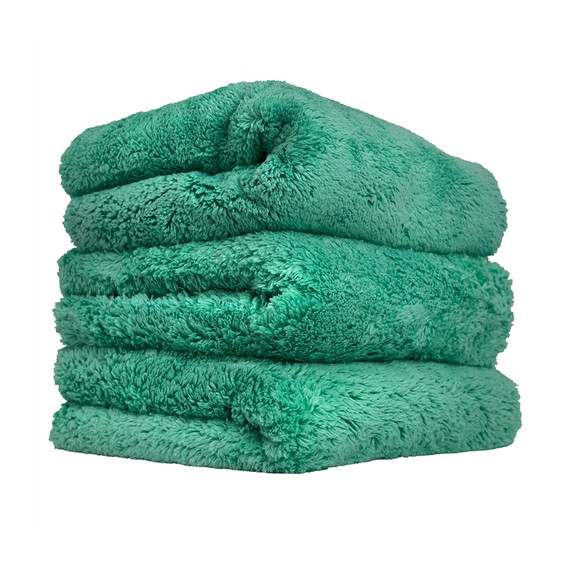 Happy Ending Edgeless Microfiber Towel, Grün 40x40cm