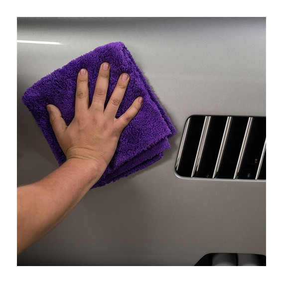 Happy Ending Edgeless Microfiber Towel, Purple 40x40cm