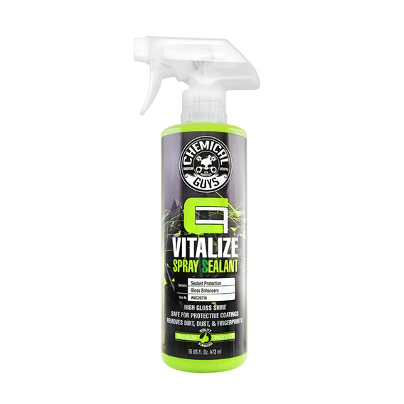 Chemical Guys WAC20716 - Carbon Flex Vitalize Spray Sealant & Quick Detailer for Maintaining Protective Coatings