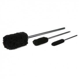 Chemical Guys ACC_M10 - Wheel Woolies Wheel Brushes (3 Bürsten)