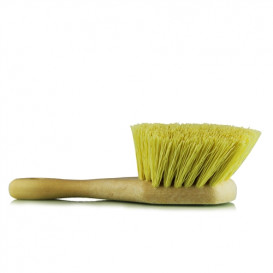 Chemical Guys ACC_G02 - Chemical Resistant Stiffy Brush, Gelb