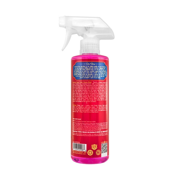 Chemical Guys AIR22816 - Fresh Cherry Blast Scent Premium Air Freshener & Odor Eliminator
