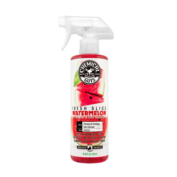 Chemical Guys AIR22516 - Fresh Slice Watermelon Premium Air Freshener & Odor Eliminator
