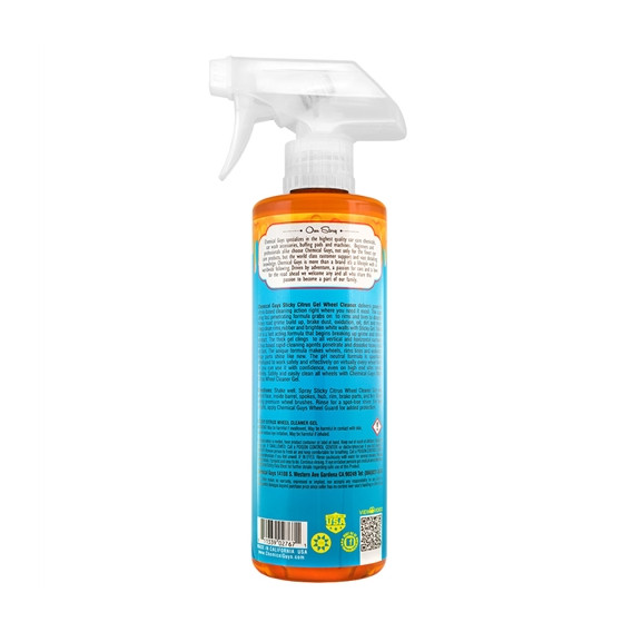 Chemical Guys CLD10516 - Sticky Citrus Gel Wheel & Rim Cleaner