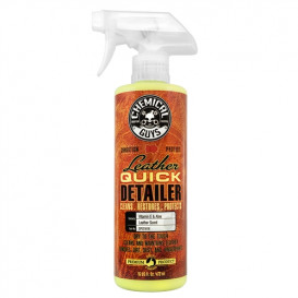 Leather Quick Detailer, Matte Finish Leather Care Spray