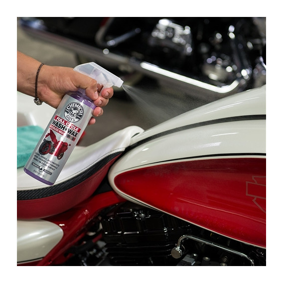 Chemical Guys MTO10004 - Wash & Wax Full Cycle 118ml, Moto Line