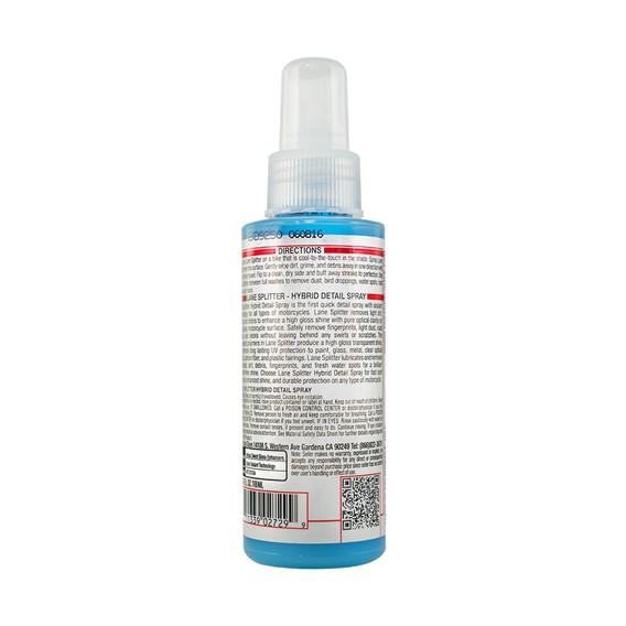Chemical Guys MTO10104 - Pflege & Glanz Hybrid Detailer Lane Splitter 118ml, Moto Line
