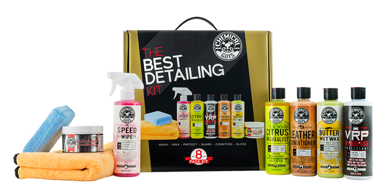 Chemical Guys HOL800 - The Best Detailing Kit (8 Items)