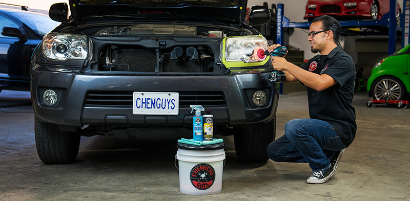 Chemical Guys GAP11516 - Headlight Restorer and Protectant