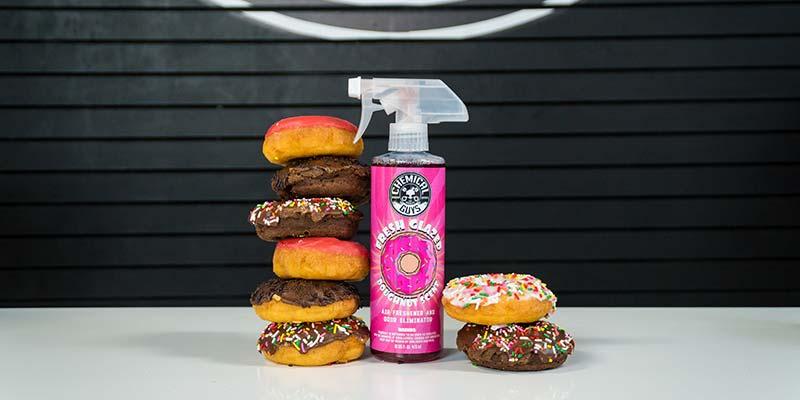 Chemical Guys AIR23316 - Fresh Glazed Doughnut Scent Premium Air Freshener and Odor Eliminator